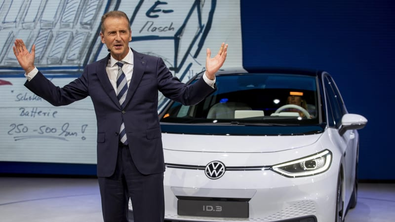 As VW electrifies, it questions the role of Lamborghini, Bugatti, Ducati