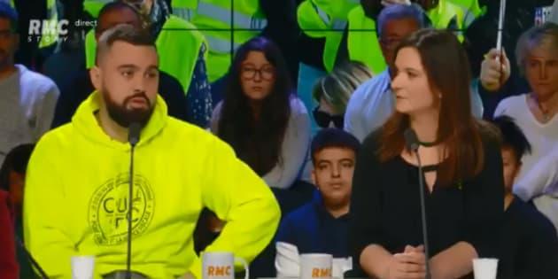 Le gilet jaune Éric Drouet encense l'émission de Schiappa et Hanouna sur C8