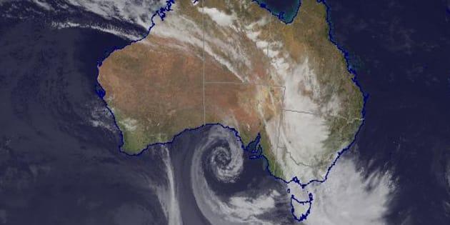 Strong rains are lashing Victoria, NSW and SA
