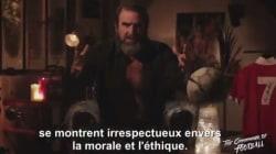 Cantona tacle sévèrement Fillon (en rappelant le cas