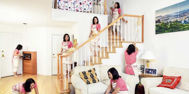 As mulheres percebem a vida conjugal como uma vida com mais conflitos do que os homens percebem, justamente por ficarem responsáveis por mais tarefas.