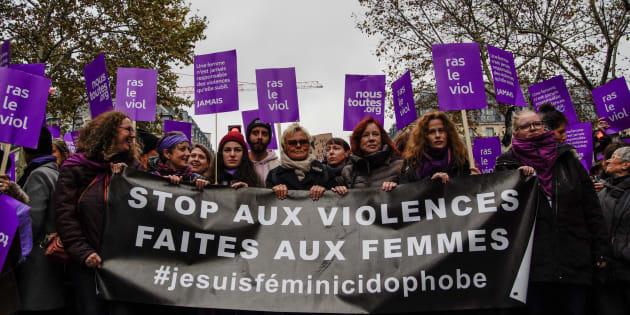 La marche #NousToutes à Paris samedi 24 novembre
