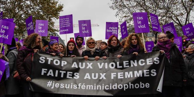 Deux jours après la marche contre les violences sexistes, le gouvernement a révélé que 109 femmes sont mortes en 2017 sous les coups de leur compagnon ou ex-compagnon.