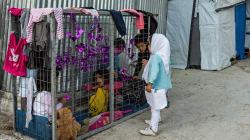 Operación Calcetín, el abrigo de los niños refugiados de