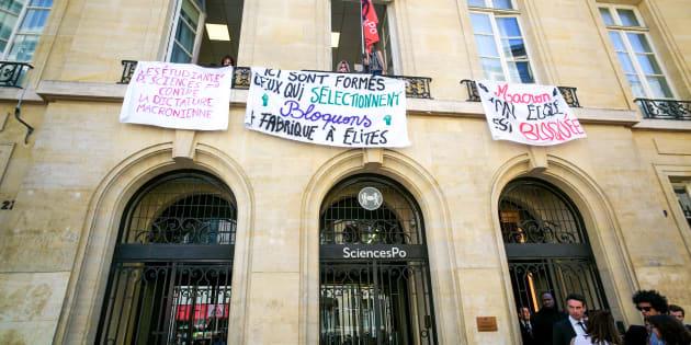 Sciences Po Paris à nouveau occupée puis débloqué ce vendredi