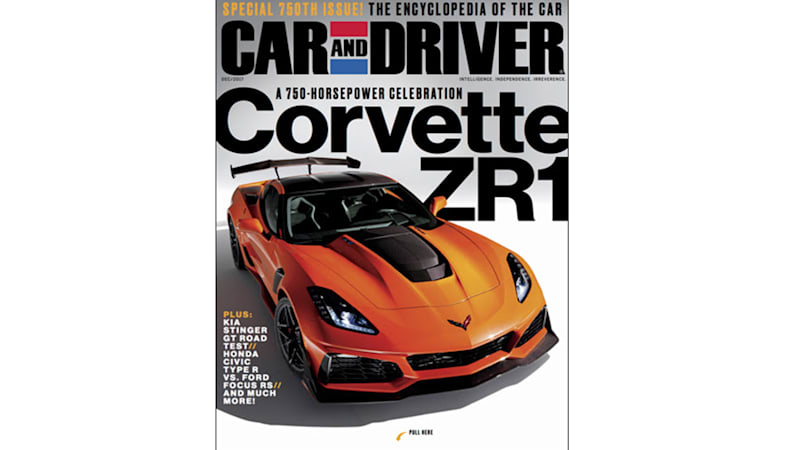 Chevy Corvette ZR Leaked On Car And Driver Cover Autoblog - Car and driver