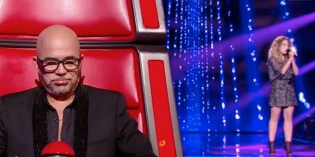 Pour sa première à The Voice, Pascal Obispo a fini en larmes.