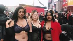 Curvy, magre, transgender, disabili. Le anti-Victoria's Secret sfilano in lingerie a Times Square. Ed è