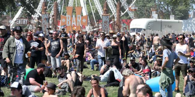 Les metalleux du Hellfest 2017 battent le record de consommation de bière du festival