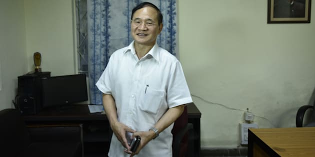 Congress leader and former Arunachal Pradesh Chief Minister Nabam Tuki at AICC on July 13, 2016 in New Delhi, India.