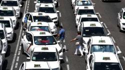 Continúa la huelga de taxistas en Madrid y