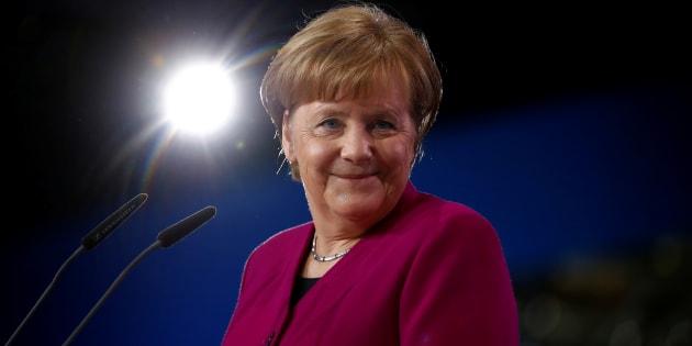 Pourquoi Angela Merkel fait déjà figure de grande gagnante, avant même le résultat du référendum du SPD