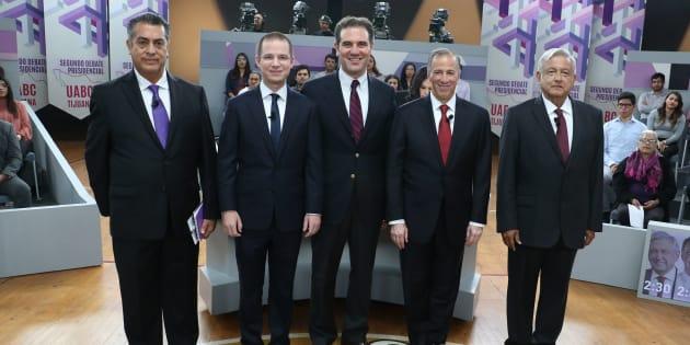 Durante el segundo #DebatePresidencial2018, los candidatos tuvieron que presentar propuestas respecto a comercio e inversión, sin embargo decidieron lanzarse ataques.
