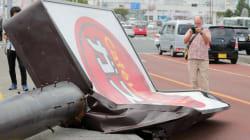 【台風24号】線路に倒木、飲食店の看板が倒壊。記録的な暴風が残した爪痕(写真)