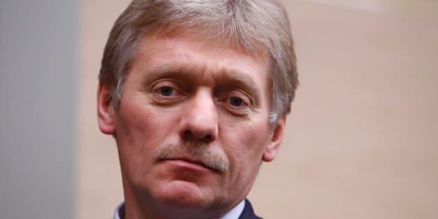 Dmitry Peskov à Moscou le 7 décembre 2017.