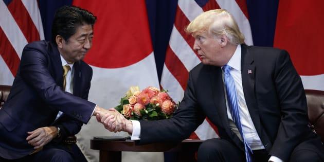 Donald Trump s'est vanté d'avoir été nommé pour le prix Nobel de la Paix par le Premier ministre japonais Shinzo Abe. Mais ce dernier l'aurait fait... à la demande des États-Unis.