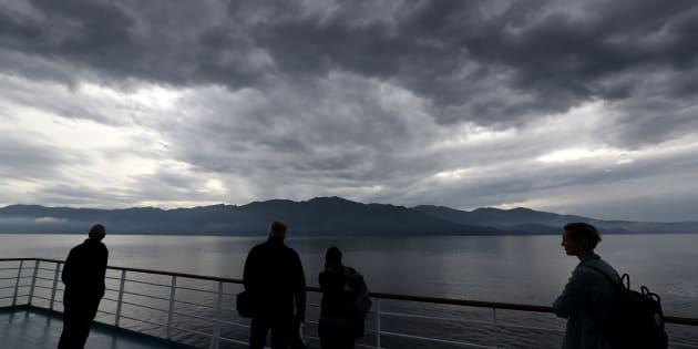 Un ciel orageux au-dessus du Cap Corse, le 7 juin