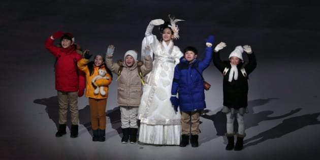 These adorable kids stole the show at the opening ceremony of the 2018 Winter Olympics in PyeongChang, South Korea, Feb. 9, 2018.