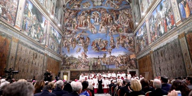 Un concert dans la Chapelle Sixtine, le 17 novembre.