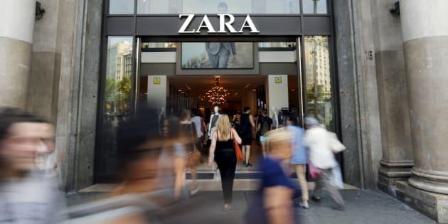 Tienda de Zara en España.