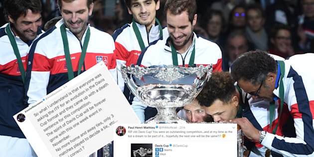 La Coupe Davis va changer et ça ne plaît vraiment pas du tout au tennis français