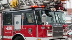 Un incendie jette sept familles à la rue dans l'est de