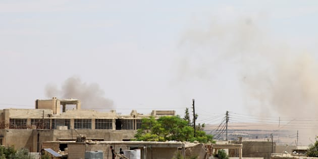 """A Idlib, la Russie et la Syrie ont mené ce samedi 8 septembre les frappes les plus """"intenses"""" en un mois, selon l'OSDH."""