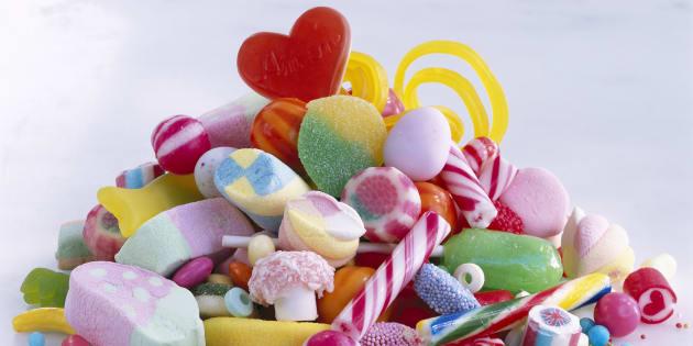 Les confiseurs s'engagent à fabriquer des bonbons allégés en sucre