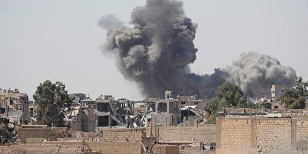 Syrie: la coalition US accusée d'avoir frappé des positions de l'armée