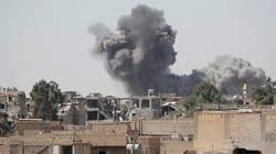 Accusée par la Syrie d'avoir frappé des bases du régime, la coalition menée par Washington