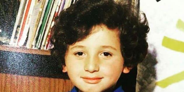 Mokhtar Guétari, l'agent de sécurité de TPMP, a publié sur son compte Instagram une photo de lui enfant.