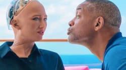 Sophia le robot humanoïde n'a pas été du tout sensible aux charmes de Will