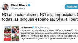 Una tuitera triunfa con su respuesta a este tuit de Rivera sobre los