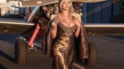 Rihanna plus sexy que jamais en aviatrice des années