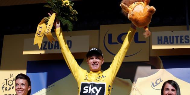 Christopher Froome, blanchi des accusations de dopage, pourra participer au Tour de France 2018.
