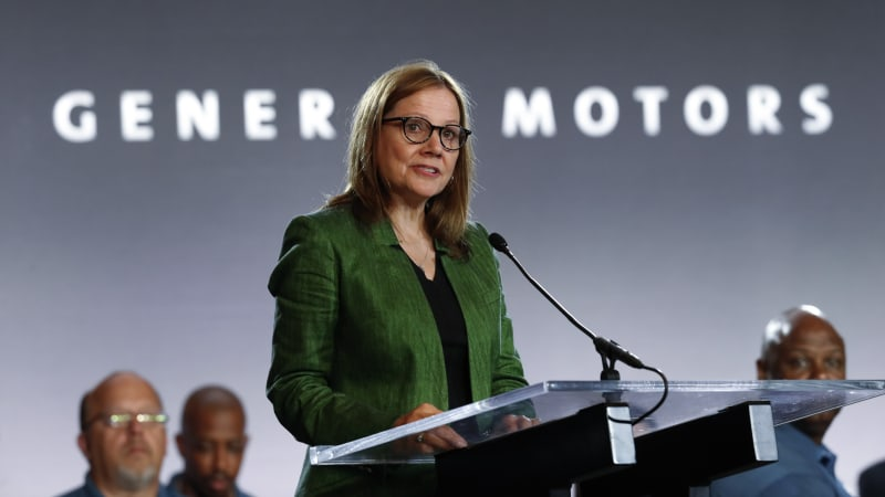 GM CEO Mary Barra's pay dipped to $21.6 million in 2019 1
