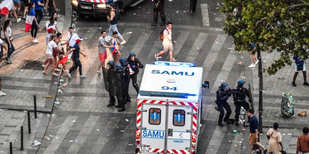 Deux morts et plusieurs blessés dans des accidents en marge des célébrations de la victoire des Bleus (photo d'illustration)