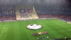 Les supporters du Barça demandent le dialogue entre la Catalogne et