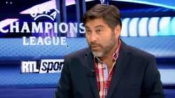 Ce spécialiste belge du football en garde à vue dans le cadre d'une affaire de vol avec