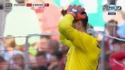 Le but contre son camp terriblement ridicule de ce gardien de Stuttgart en