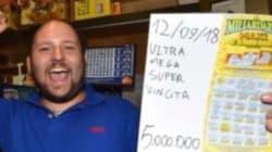 Vince 5 milioni e annuncia: