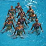 Inspiradas en 'Coco', mexicanas de nado sincronizado consiguen 7