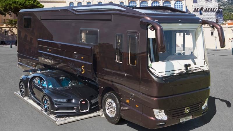 Volkner Performance S ist ein Wohnmobil mit einem Bugatti im Bauch€