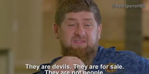 Le leader tchétchène demande que les gais soient emmenés au Canada