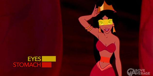 """La princesse Disney """"Jasmine"""""""