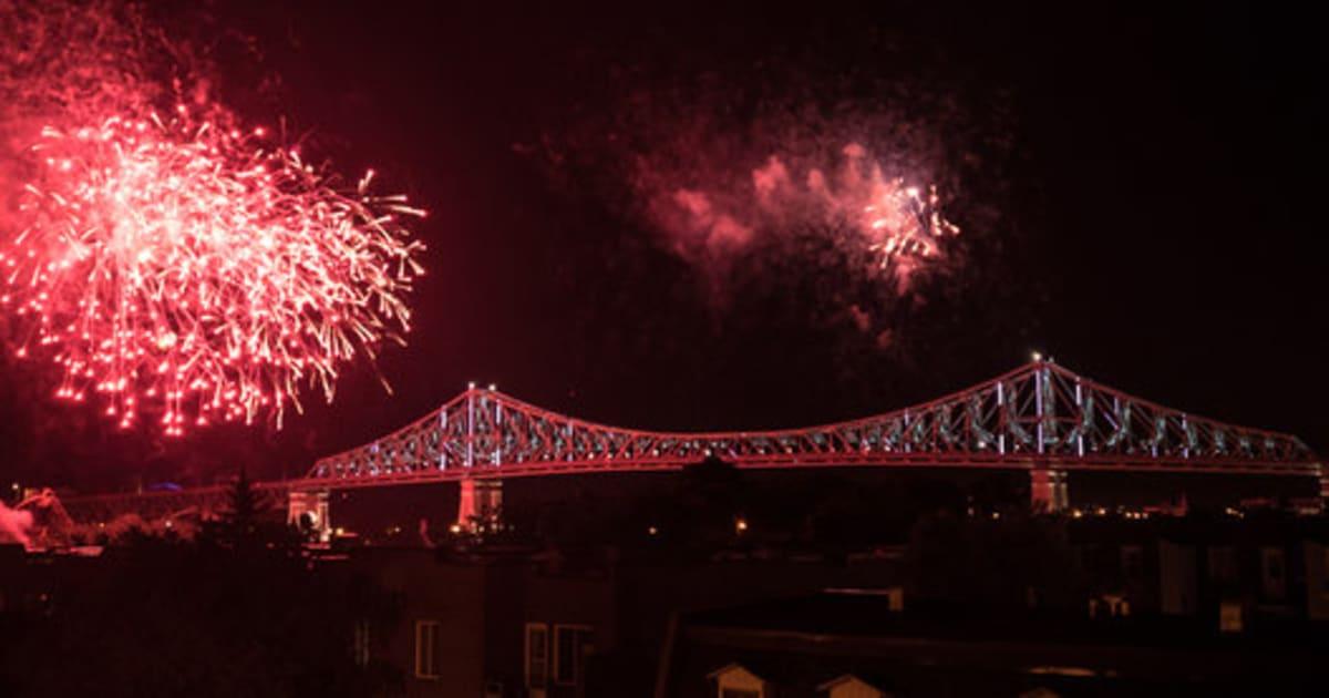 Une illumination sp ciale du pont jacques cartier pour la f te du canada huffpost qu bec - Bureau d immigration canada a montreal ...