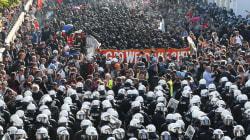 Scontri al corteo anti-G20 di