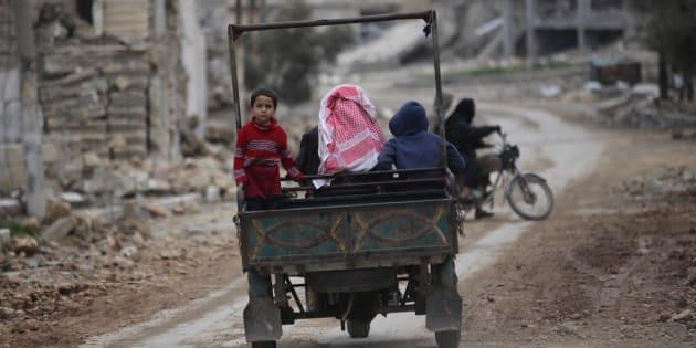 Al-Bab, no norte da Síria.