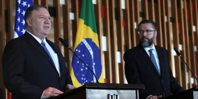 Resultado de imagem para trump e o brasil