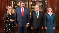 Buenos deseos desde Caracas a López